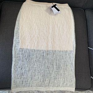 * New With Tags* Alexander Wang knit midi skirt